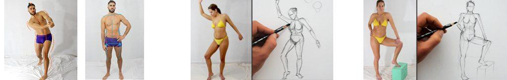conseils pour bien dessiner un corps humain et le structurer facilement