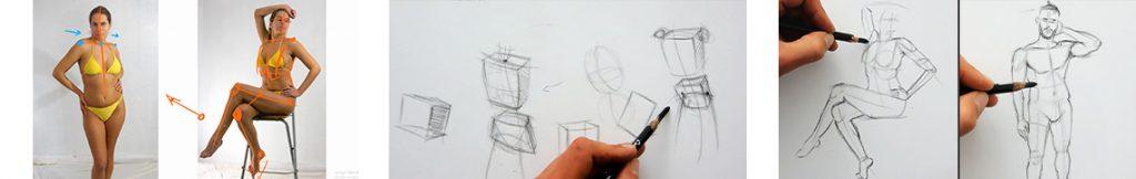 comment dessiner un personnage en 3d simplement