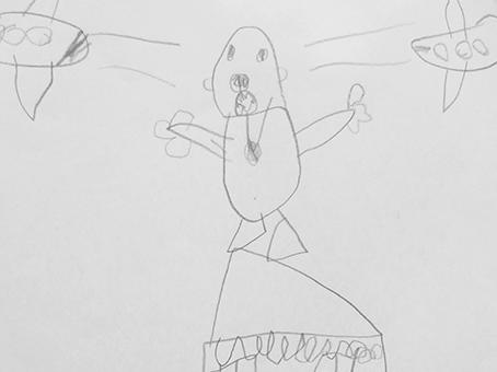 comment dessiner une scène de film comme un enfant