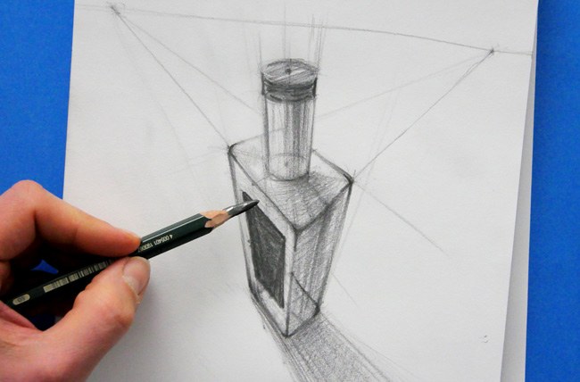 cours pour bien dessiner en volume et en perspective