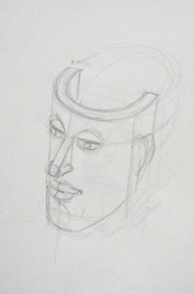 Voici comment dessiner un visage en perspective sans faire d'erreur