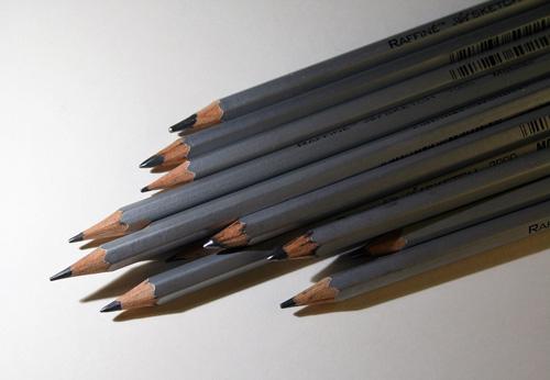 Utiliser plusiseurs crayons graphites pour faire un dessin bien contrasté