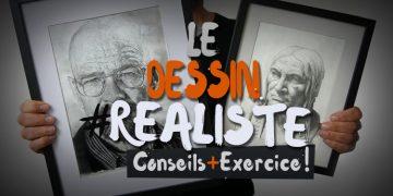 exercice et conseils pour apprendre à faire un dessin réaliste pas à pas
