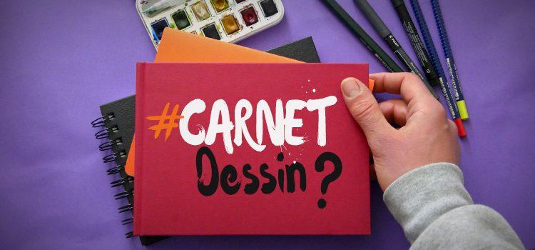 voici un article et une vidéo pour apprendre à faire un carnet de dessin utile et pratique pour dessiner partout