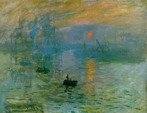 exemple de peinture impressioniste pour <a href=