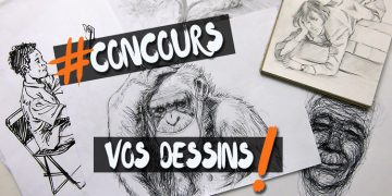 un concours dessin-creation pour faire un dessin par jour et progresser ensemble