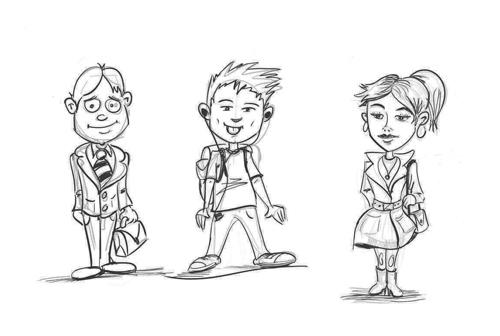 Comment dessiner des habits et rendre vos personnages originaux.