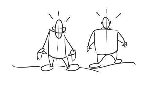 Méthode simple pour dessiner le corps d'un personnage inventé