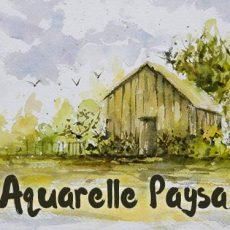 Technique pour peindre un paysage à l'aquarelle et bien débuter avec ce cours pratique