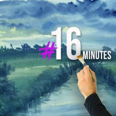 Cours et conseils pour apprendre à peindre une aquarelle rapidement
