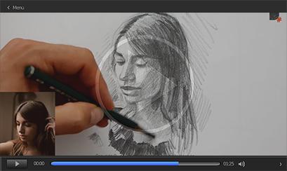 cours pour dessiner un portrait de femme rapidement